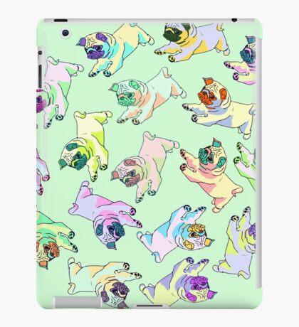 spiral pugs iPad Case/Skin