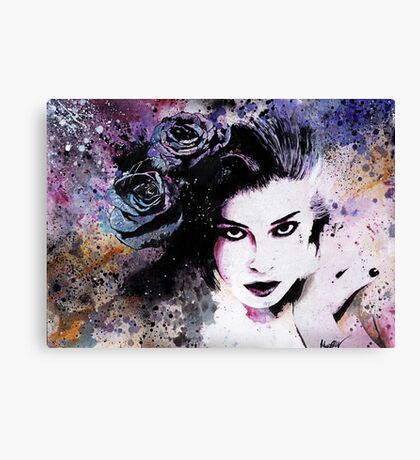 Softly Spoken Agony Canvas Print
