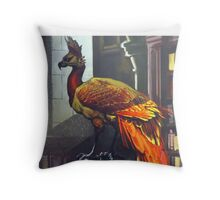 Harry Potter Fawkes Throw Pillow