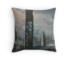harry potter quidditch Throw Pillow