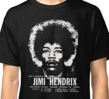 jimmy hendrix gig poster shirt Classic T-Shirt