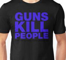 Guns Kill People, Just Like Spoons Make People Fat Unisex T-Shirt