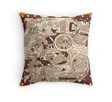 Harry potter and the chamber of secrets Throw Pillow