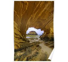 Sandstone Arch. Poster