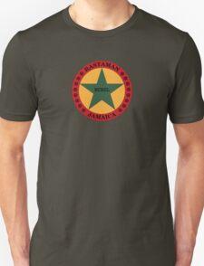 Rastaman rebel star Unisex T-Shirt