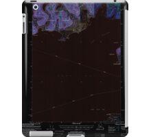 USGS TOPO Map Alaska AK Cordova C-7 355201 2000 63360 Inverted iPad Case/Skin