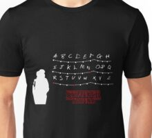 Stranger Things - Alphabet - Black Unisex T-Shirt