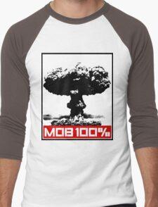 MOB 100% Men's Baseball ¾ T-Shirt