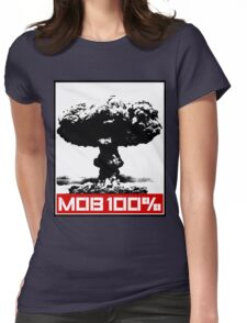 MOB 100% Womens Fitted T-Shirt