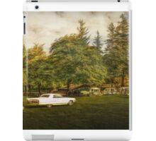 Caddy in the Camp iPad Case/Skin