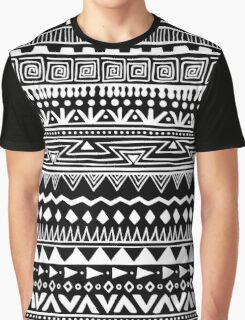 Boho In Black and White Graphic T-Shirt