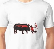 how do you like your poachers , Skewered Unisex T-Shirt