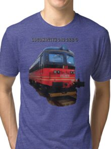 Electric Locomotive 242 288-9 Tri-blend T-Shirt