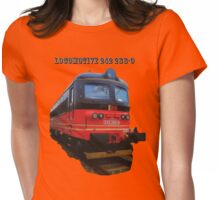 Electric Locomotive 242 288-9 Womens Fitted T-Shirt