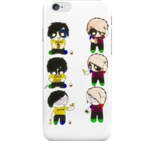 Dan and Phil The Rowdyruff Boys iPhone Case/Skin