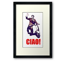 Ciao! Framed Print