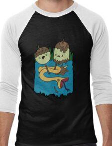 Princess Bubblegum's Rock T-shirt Men's Baseball ¾ T-Shirt