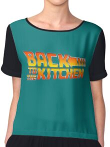 Back To the Kitchen Chiffon Top