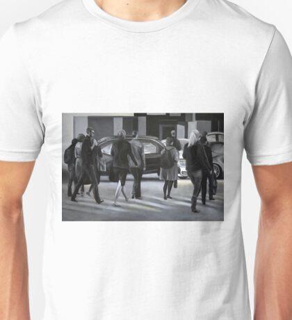 Rush time, 2012, 120-80cm, oil on canvas Unisex T-Shirt