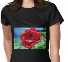 Raindrops on Roses.......... Dorset UK Womens Fitted T-Shirt