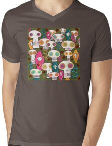 Death and Taxes Mens V-Neck T-Shirt