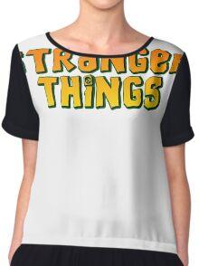 Stranger Things  (The Goonies) Chiffon Top