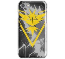 Team Instinct Pokemon GO Zapdos Phone case  iPhone Case/Skin