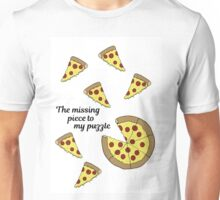 The missing piece to my puzzle. Unisex T-Shirt