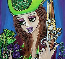 Poppet Pirate at Chameleon Cove by Laura Barbosa