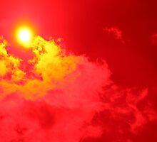 Red Sun by DeziUnique