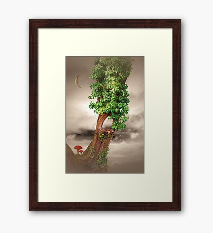 Once- Upon-A Monday Framed Print