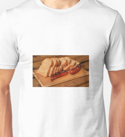 Bread and suasage Unisex T-Shirt