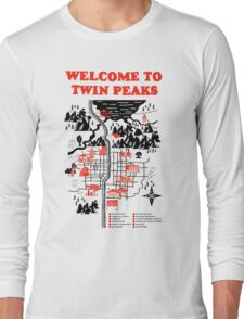 Welcome to Twin Peaks Long Sleeve T-Shirt