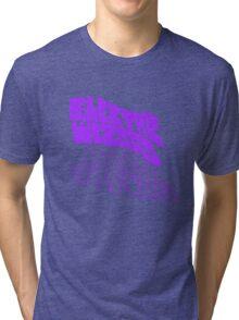 Electric Wizard - transparent Tri-blend T-Shirt