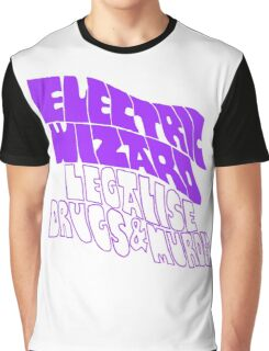 Electric Wizard - transparent Graphic T-Shirt