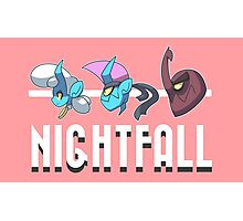 Nightfall Portrait Poster Photographic Print