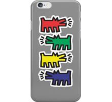 Dog Keith Haring iPhone Case/Skin
