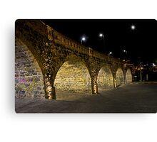 Broken Bridge, Puente Roto, Cuenca, Ecuador II Canvas Print