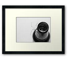 """Along Came A Spider...."" Framed Print"