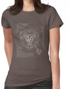 Arcane Sanctum  Womens Fitted T-Shirt