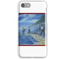 les cueilleurs de lavande iPhone Case/Skin