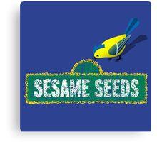Sesame Seeds Canvas Print