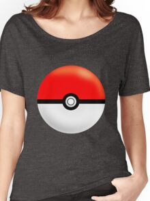 Painted Pokeball Women's Relaxed Fit T-Shirt