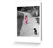 """First Steps"" Greeting Card"