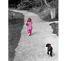 """First Steps"" Photographic Print"