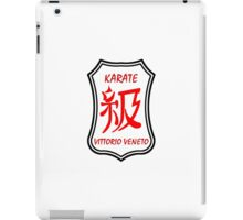 Karate Kyu Traditional Logo iPad Case/Skin