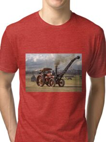 "Burrell 6nhp Road Locomotive No.3166 ""Joe Chamberlain"" Tri-blend T-Shirt"