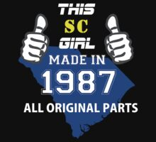 This South Carolina Girl Made in 1987 by satro