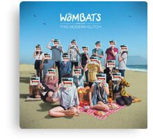 The Wombats - The Modern Glitch Canvas Print