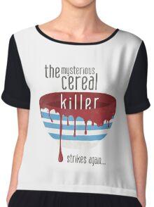 Cereal Killer Chiffon Top